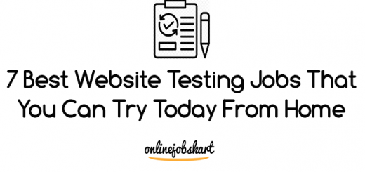 best website testing jobs