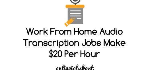 audio transcription jobs