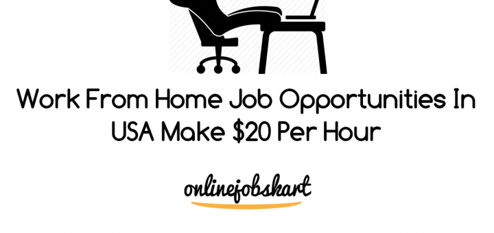 work from home job opportunities in USA