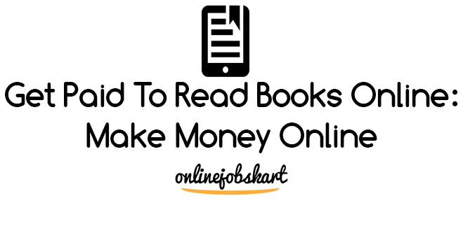 get paid to read books online