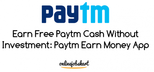 paytm earn money app