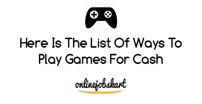 play games for cash