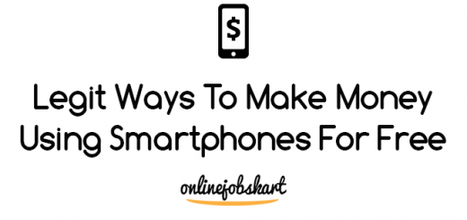 Make Money Using Smartphones