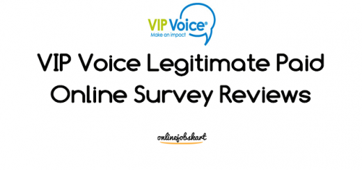 legitimate paid online survey vip voice