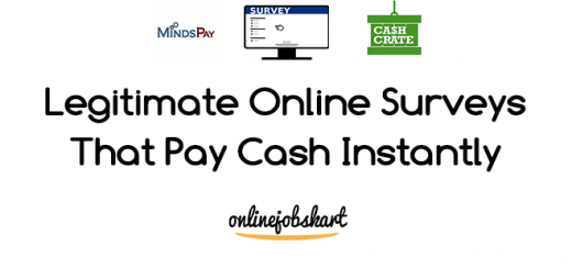 Surveys That Pay Cash Instantly