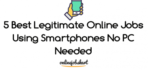 online jobs using smartphones