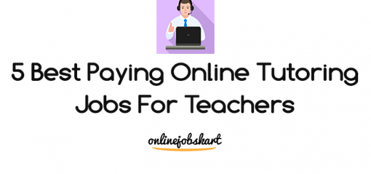 Best Paying Online Tutoring Jobs