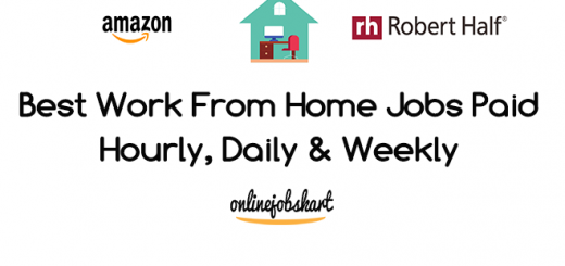work from home jobs paid