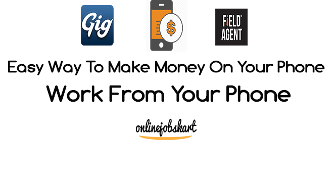 work from your phone