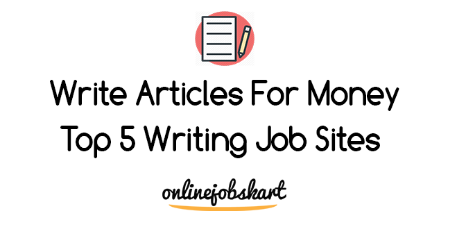 write articles for money