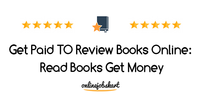 Get Paid To Review Books Online
