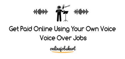 Make Money Online With Your Voice